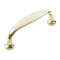 "Classic Brass - Hutter Classic - 4 1/2"" Centers Pull in Antique Polished Silver"