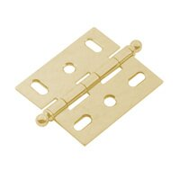 Classic Brass - Hinge  - Mortise Hinge in Antique Polished Silver