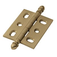 Classic Brass - Hinge  - Mortise Hinge with Cathedral Finial in Antique Brass