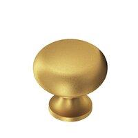 "Colonial Bronze - Knobs - 3/4"" Diameter Knob In Satin Bronze"