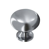 "Colonial Bronze - Antimicrobial Agion Knobs - 1"" Knob in Satin Brass"