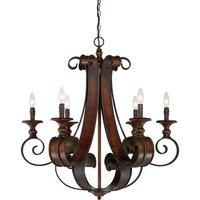 "Craftmade - Jeremiah Seville Lighting - 30"" Chandelier in Spanish Bronze"