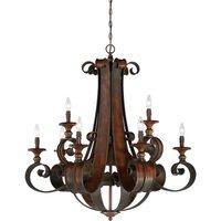 "Craftmade - Jeremiah Seville Lighting - 36"" Chandelier in Spanish Bronze"