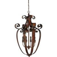 """Craftmade - Jeremiah Seville Lighting - 23 1/2"""" Pendant Light in Spanish Bronze"""