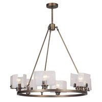 Craftmade - Trouvaille - 6 Light Chandelier in Patina Aged Brass