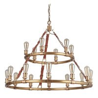 Craftmade - Huxley - 18 Light Chandelier in Vintage Brass