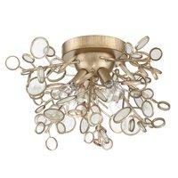 Craftmade - Sigrid - 4 Light Flushmount in Gold Twilight
