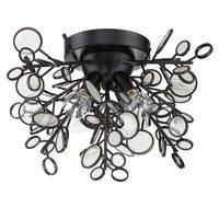 Craftmade - Sigrid - 4 Light Flushmount in Matte Black