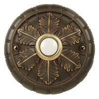 Craftmade - Tieber by - Door Bells and Chimes - Surface Mount Medallion Door Bell in Antique Bronze