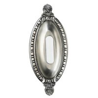 Craftmade - Tieber by - Door Bells and Chimes - Surface Mount Oval Ornate Door Bell in Antique Pewter