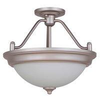 Craftmade - Flush and Semi Flush Lights Lighting - Pro Builder 2 Light Semi Flush in Brushed Polished Nickel