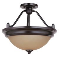 Craftmade - Flush and Semi Flush Lights Lighting - Pro Builder 2 Light Semi Flush in Oiled Bronze