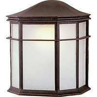 """Craftmade - Exterior Exterior Lighting - 8"""" Wall Light in Rust with Acrylic Lens"""