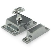 Deltana Hardware - Solid Brass Cabinet Locks - Solid Brass Large Cabinet Lock in Chrome
