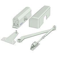 Deltana Hardware - Door Closers - Door Closer in Aluminum