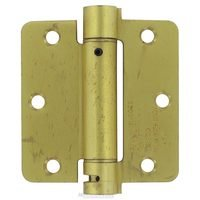"Deltana Hardware - Spring Hinges - 3 1/2"" x 3 1/2"" 1/4"" Radius Spring Door Hinge (Sold Individually) in Oil Rubbed Bronze"