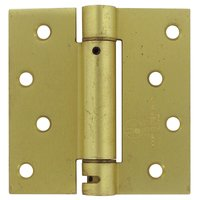 "Deltana Hardware - Spring Hinges - 4"" x 4"" Standard Square Spring Door Hinge (Sold Individually) in Oil Rubbed Bronze"
