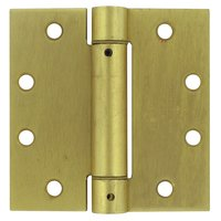 """Deltana Hardware - Spring Hinges - 4 1/2"""" x 4 1/2"""" Standard Square Spring Door Hinge (Sold Individually) in Oil Rubbed Bronze"""