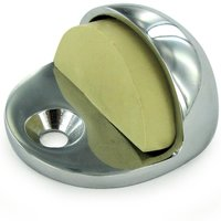 Deltana Hardware - Solid Brass Magnetic & Standard Dome Stops - Solid Brass Low Profile Dome Stop in PVD Brass