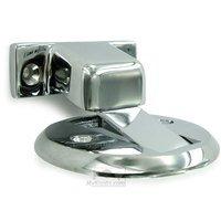 "Deltana Hardware - Solid Brass Flush Magnetic Door Stop / Holders - Solid Brass 2 1/2"" Diameter Flush Magnetic Door Holder in PVD Brass"