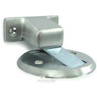 Deltana Hardware   Solid Brass Flush Magnetic Door Stop / Holders   Solid  Brass 2 1