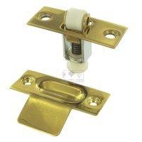 Deltana Hardware - Door Catches - Solid Brass Roller Catch in PVD Brass