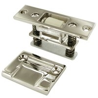 Deltana Hardware - Door Catches - Solid Brass Heavy Duty Roller Catch in PVD Brass