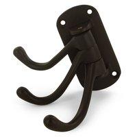 """Deltana Hardware - Solid Brass Triple Swivel Hooks - Solid Brass 4"""" Projection Heavy Duty Triple Swivel Hook in PVD Brass"""