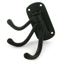 """Deltana Hardware - Solid Brass Triple Swivel Hooks - Solid Brass 4"""" Projection Heavy Duty Triple Swivel Hook in Paint Black"""