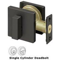 Deltana Hardware - Zinc Deadbolts - Zinc Deadbolt Lock Grade 3 in Brushed Nickel
