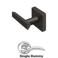 Deltana Hardware - Livingston - Left Handed Livingston Lever Privacy in Brushed Nickel