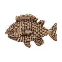 "Acorn MFG - Artisan - 2 1/2"" Fun Fish Knob in Museum Gold"