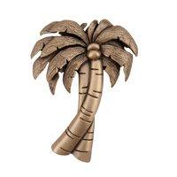 "Acorn MFG - Artisan - 1 7/8"" Palm Tree Knob in Museum Gold"