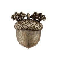"Acorn MFG - Artisan - 1 3/8"" Acorn Knob in Antique Brass"