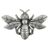 "Acorn MFG - Artisan - 2 1/4"" Bee Knob in Antique Pewter"
