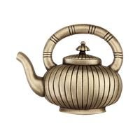 "Acorn MFG - Artisan - 1 3/4"" Teapot Knob in Antique Brass"