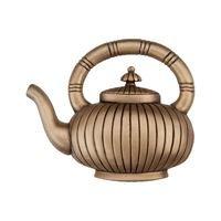 "Acorn MFG - Artisan - 1 3/4"" Teapot Knob in Museum Gold"