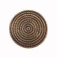 "Acorn MFG - Artisan - 1 1/2"" Rope Cirlce Knob in Museum Gold"