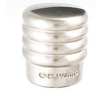 "Du Verre Hardware - Die-Cast Aluminum ( Stacked ) by Clodagh - 3/4"" Knob in Satin Nickel"