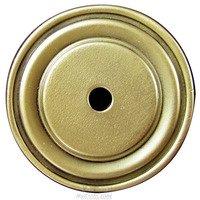 Edgar Berebi - Backplates - Round Knob Backplate in Florentine Gold