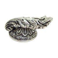 Edgar Berebi - Louis XV - Knob in Burnish Silver