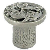 "Edgar Berebi - Somerset - 13/16"" Diameter Somerset Mini Knob in Antique Brass"