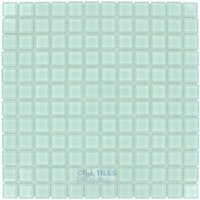 "Elida Ceramica - Dynasty Tile - 12""x12"" Glass Mosaic in Clear"