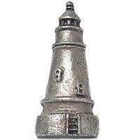 Emenee - Kid Stuff - Lighthouse Knob in Antique Matte Silver