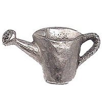 Emenee - Nature - Watering Can Knob in Antique Matte Silver