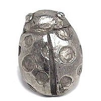 Emenee - Nature - Lady Bug Knob in Antique Matte Silver