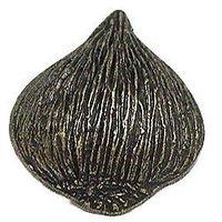 Emenee - Gatherings - Onion Knob in Antique Matte Silver