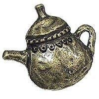 Emenee - Gatherings - Tea Pot Shape Knob in Antique Matte Silver