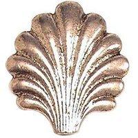 Emenee - Classics - Sea Shell Shape Knob in Antique Matte Silver