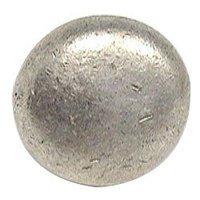 Emenee - Classics - Basic Bold Round Knob in Antique Matte Silver